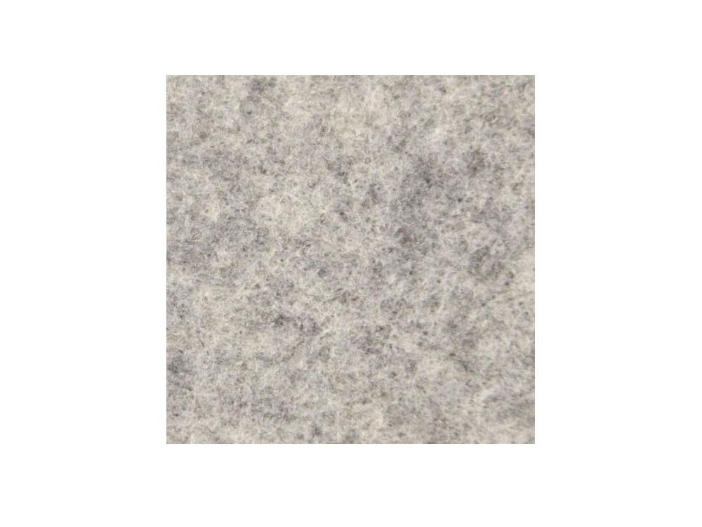 Filc ozdobny, dekoracyjny - melanżowy, kremowy, 30 x 40 cm