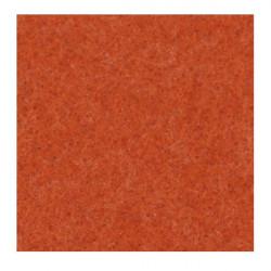 Filc ozdobny, dekoracyjny - melanżowy, pomarańczowy, 30 x 40 cm