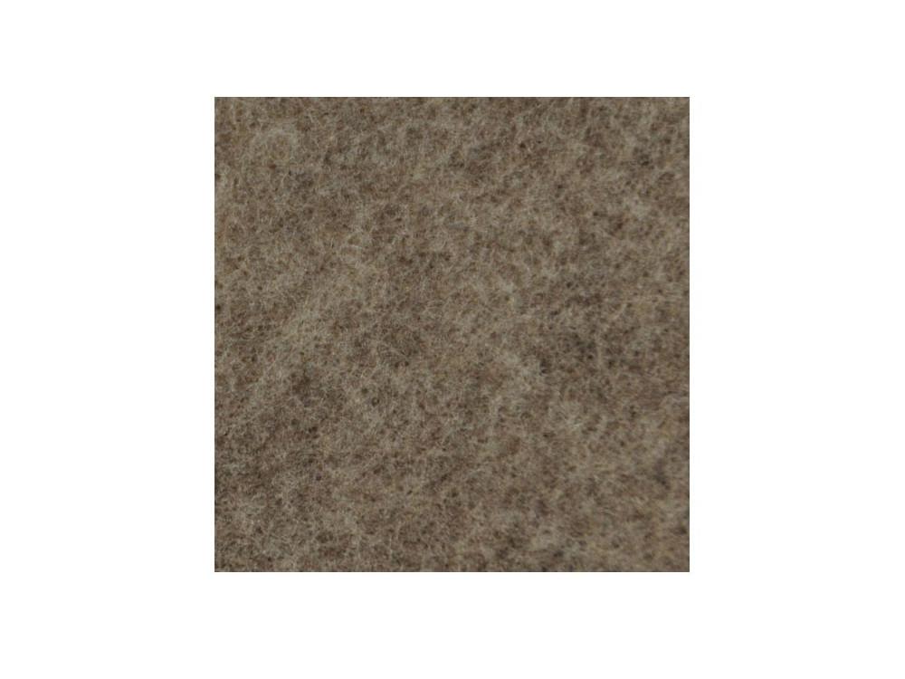 Filc ozdobny, dekoracyjny - melanżowy, piaskowy, 30 x 40 cm