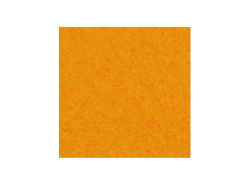 Filc ozdobny, samoprzylepny - jasnopomarańczowy, 30 x 40 cm