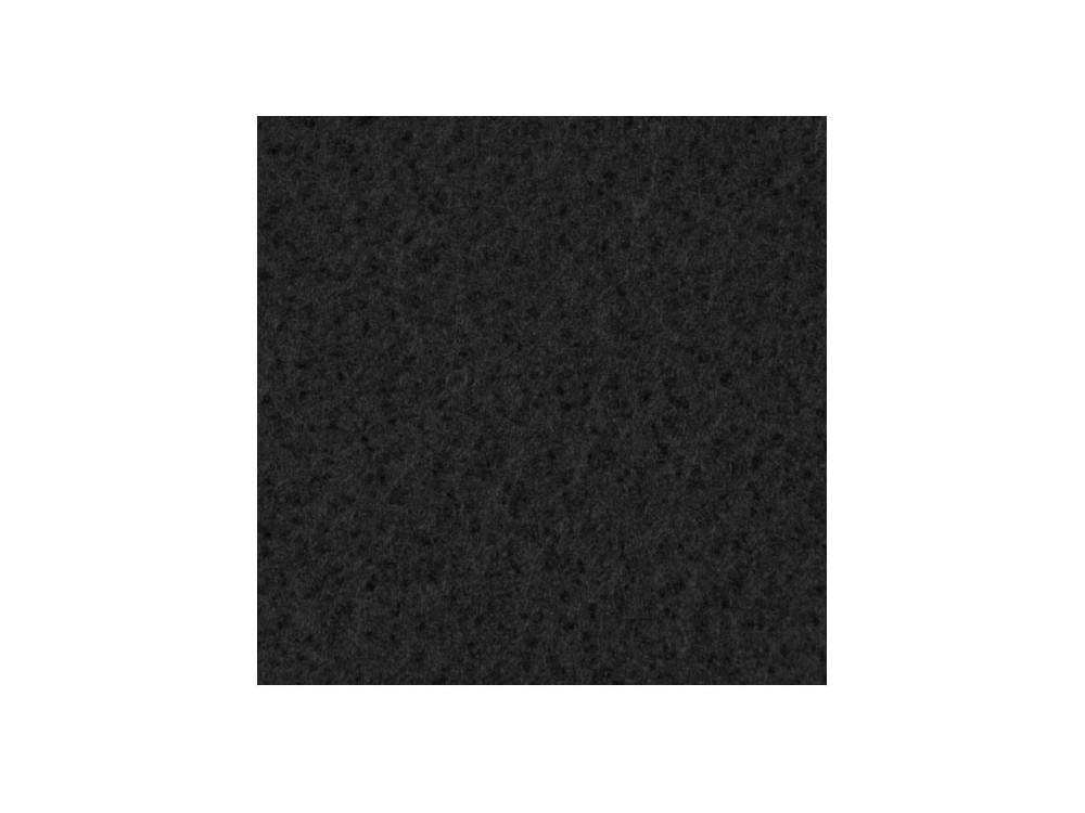 Filc ozdobny, samoprzylepny - czarny, 30 x 40 cm
