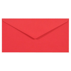 Sirio Color Envelope 115g - DL, Lampone, red