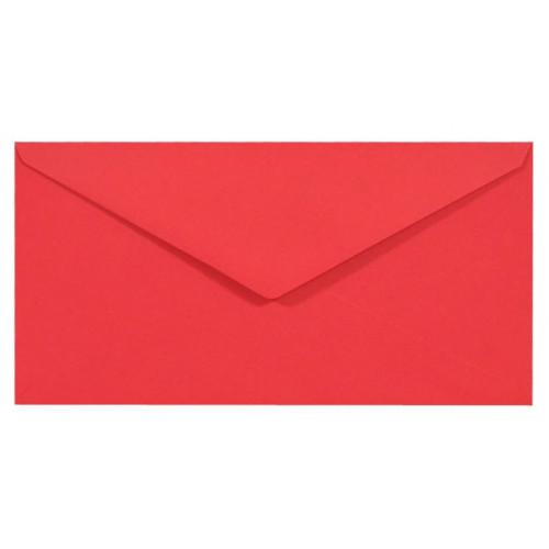 Koperta Sirio Color 115g - DL, Lampone, czerwona