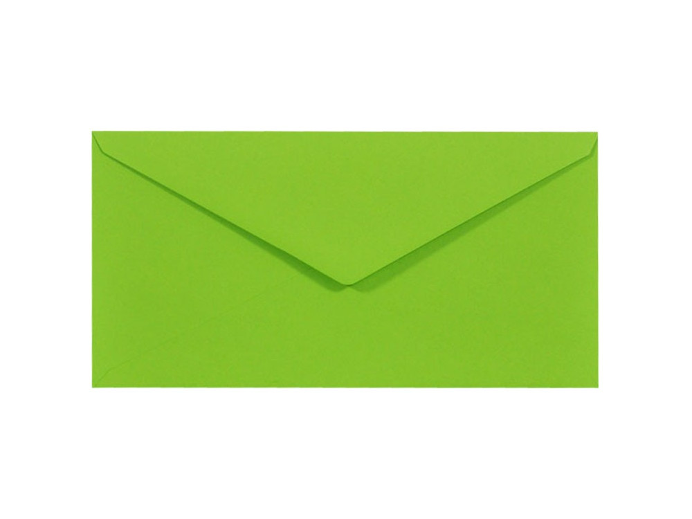 Koperta Sirio Color 115g - DL, Lime, zielona