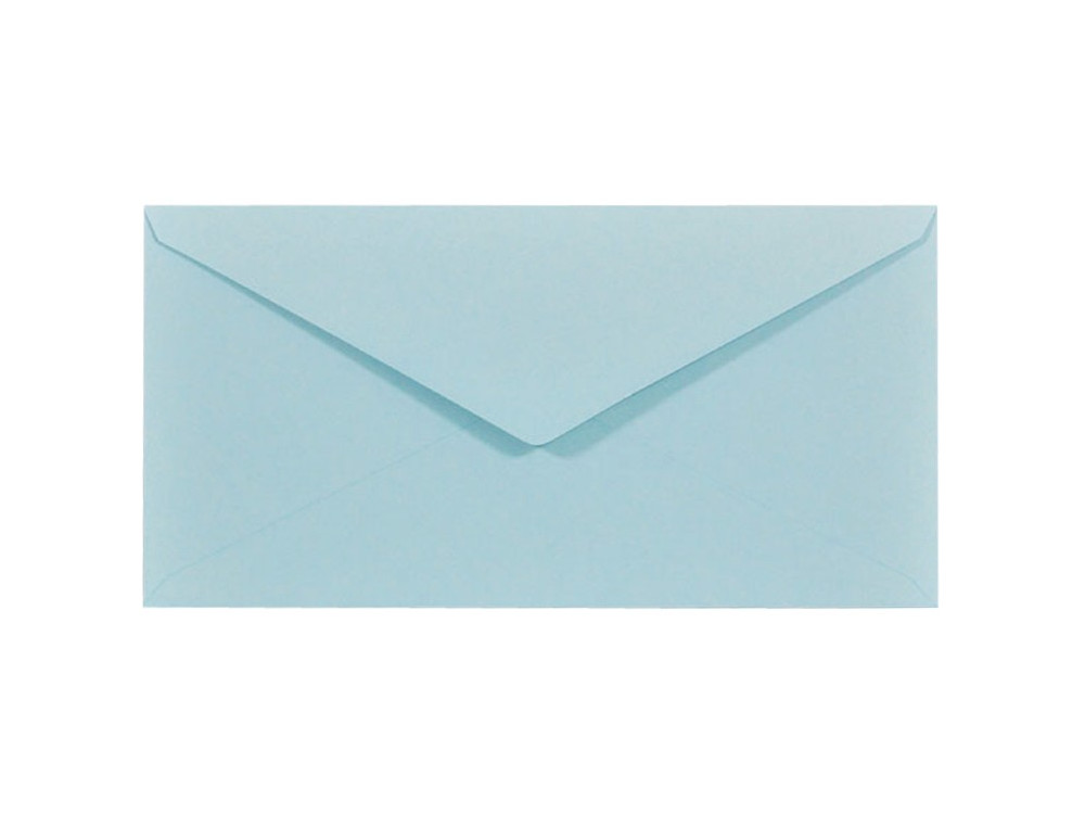 Sirio Color Envelope 115g - DL, Celeste, light blue