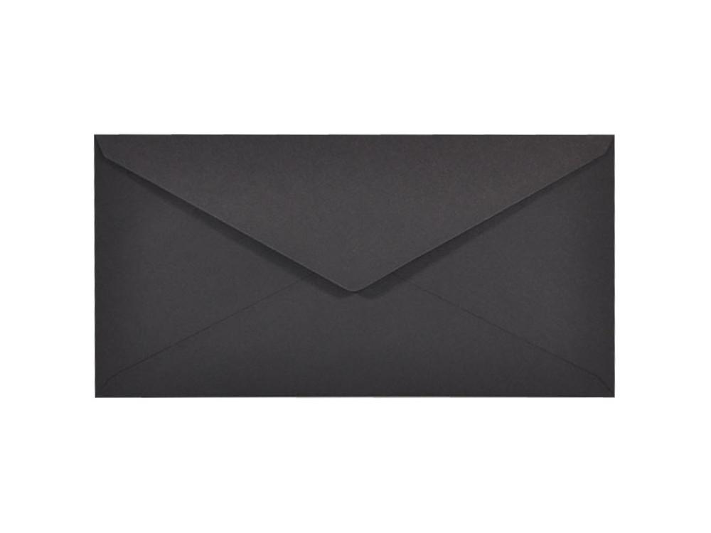 Sirio Color Envelope 115g - DL, Nero, black