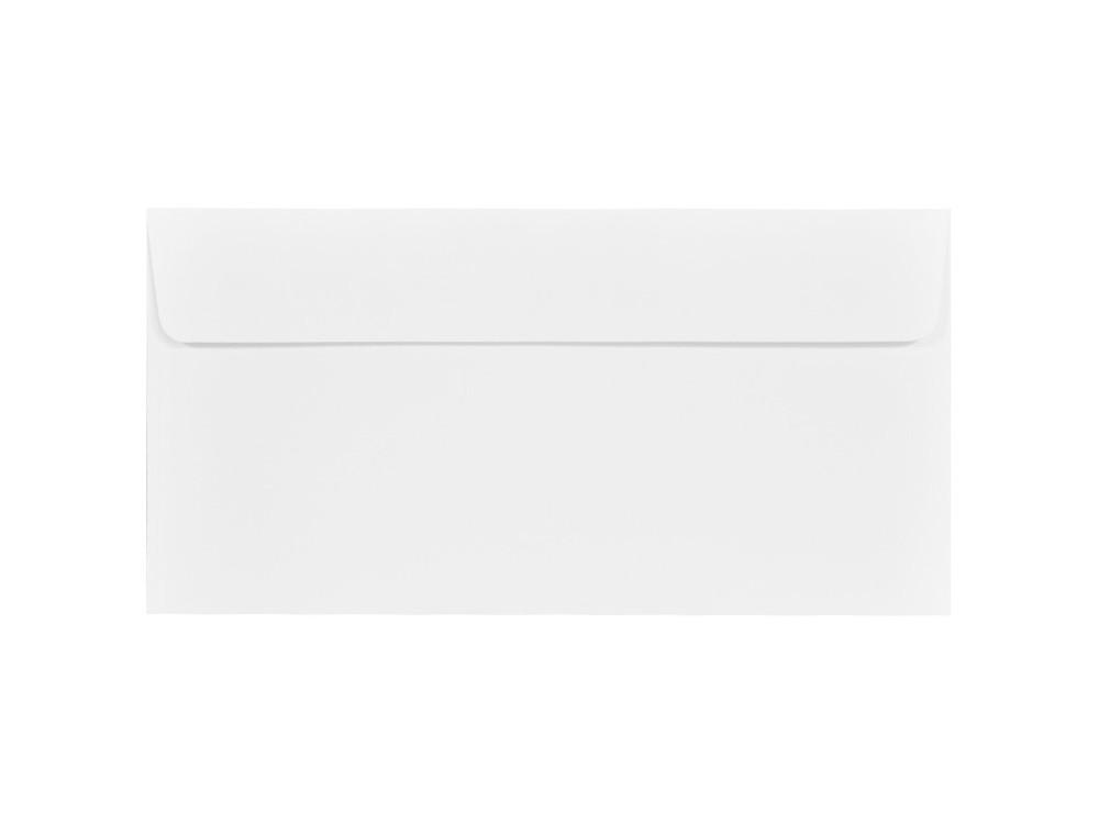 Koperta fakturowana Via Linen 120g - DL, biała