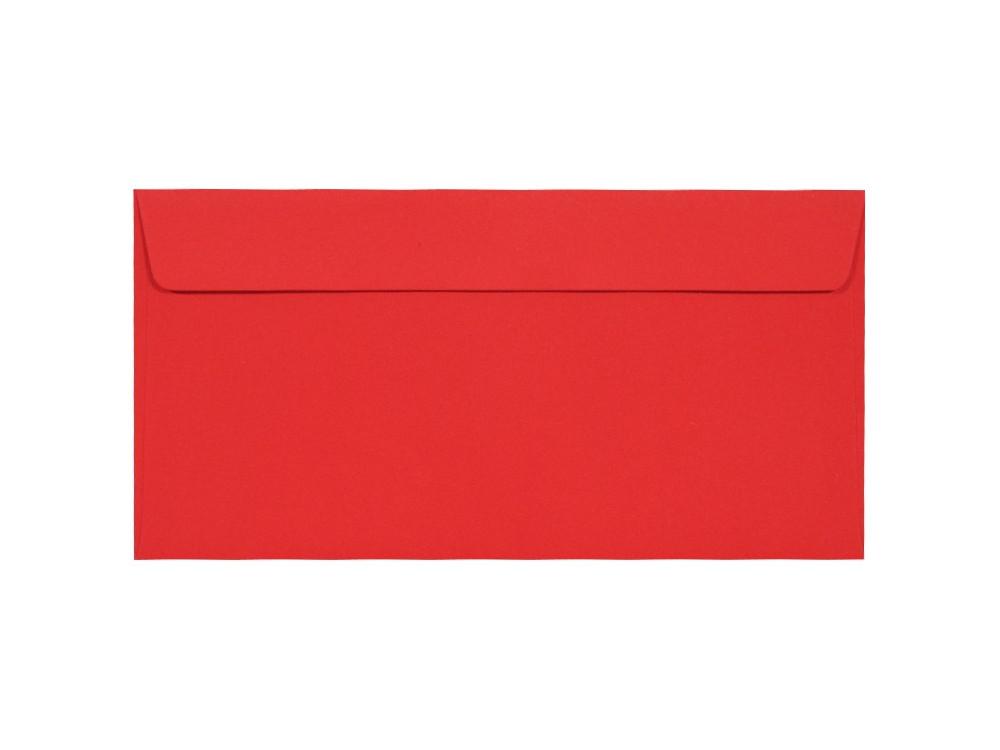 Koperta Kreative 120g - DL, Ruby, czerwona