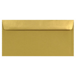 Koperta Sirio Pearl 110g - DL, Aurum, złota