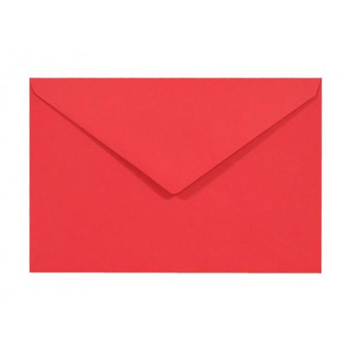 Koperta Sirio Color 115g C6 Lampone, czerwona