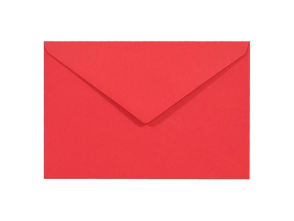 Koperta Sirio Color 115g - C6, Lampone, czerwona