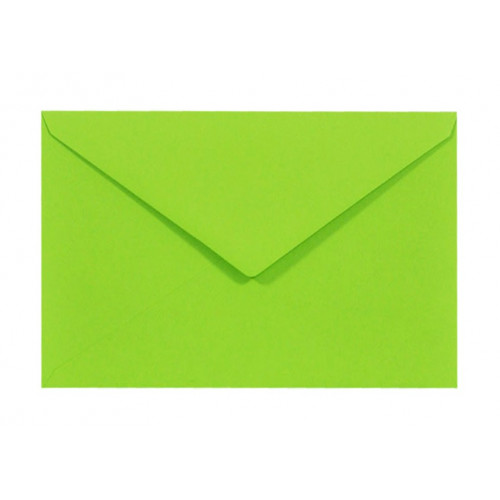 Koperta Sirio Color 115g C6 Lime, zielona