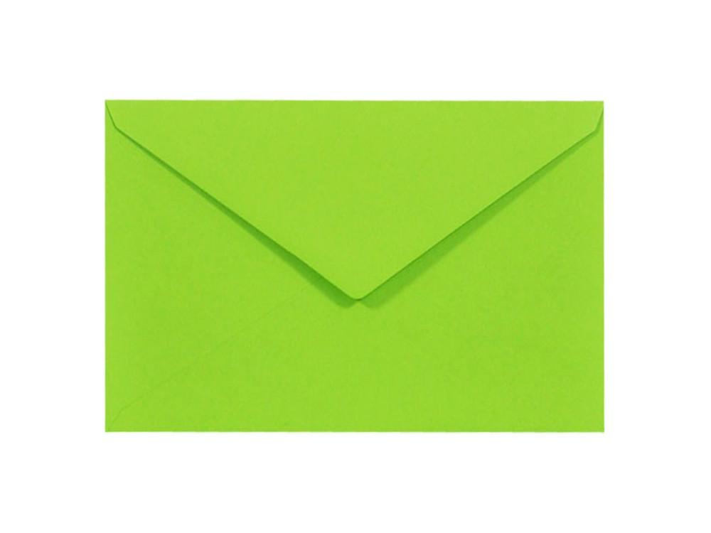 Koperta Sirio Color 115g - C6, Lime, zielona