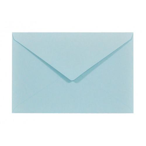 Koperta Sirio Color 115g C6 Celeste, błękitna