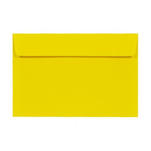 Koperta Kreative 120g C6 HK Sun, żółta