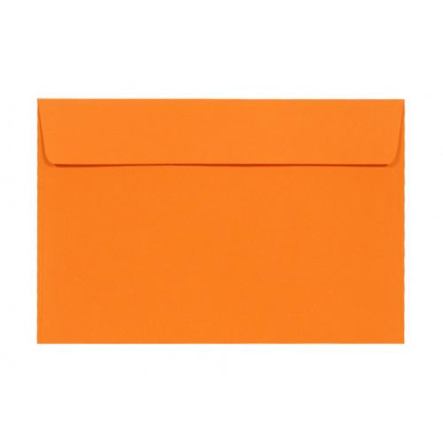 Koperta Kreative 120g - C6, Mandarin, pomarańczowa