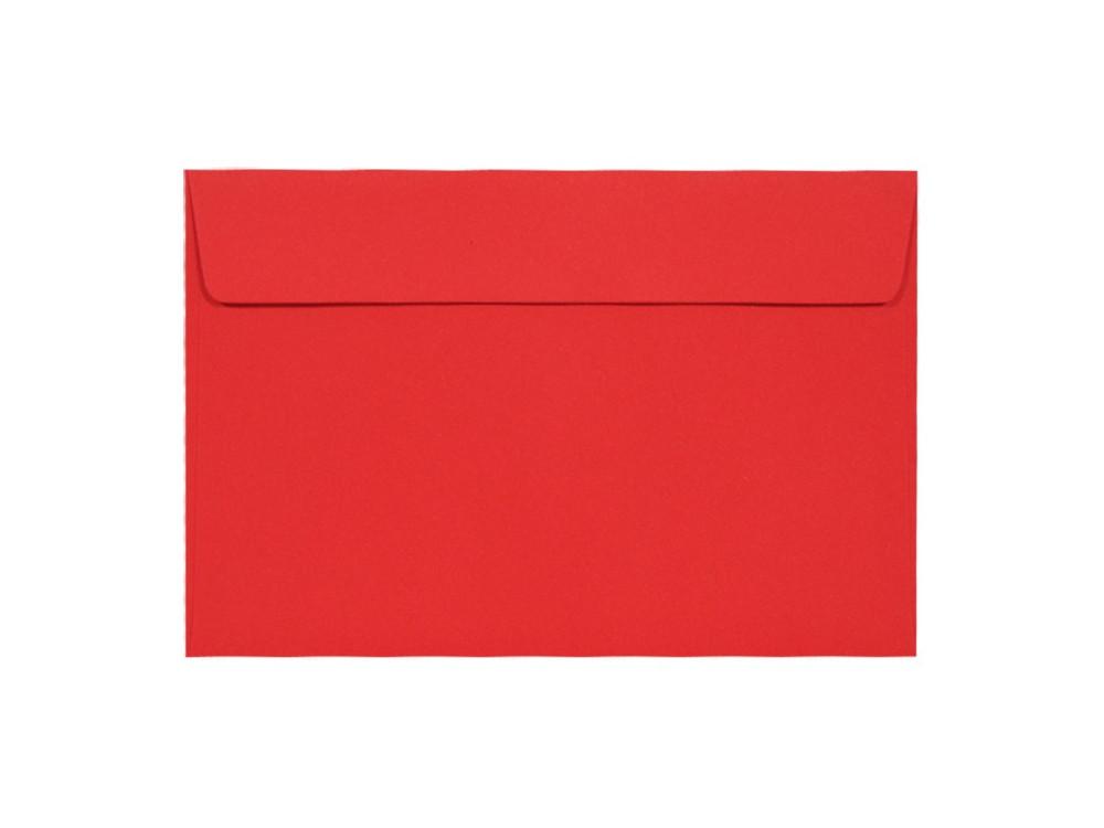Koperta Kreative 120g - C6, Ruby, czerwona