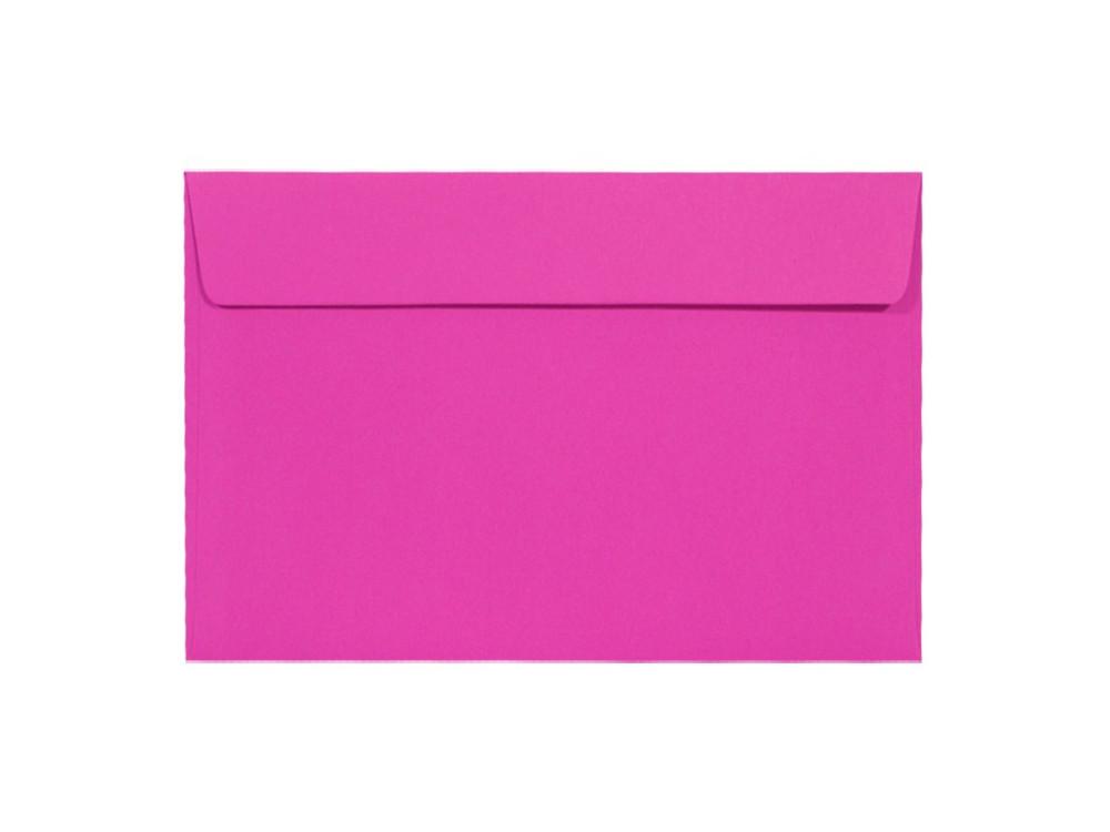 Koperta Kreative 120g - C6, Magenta, różowa