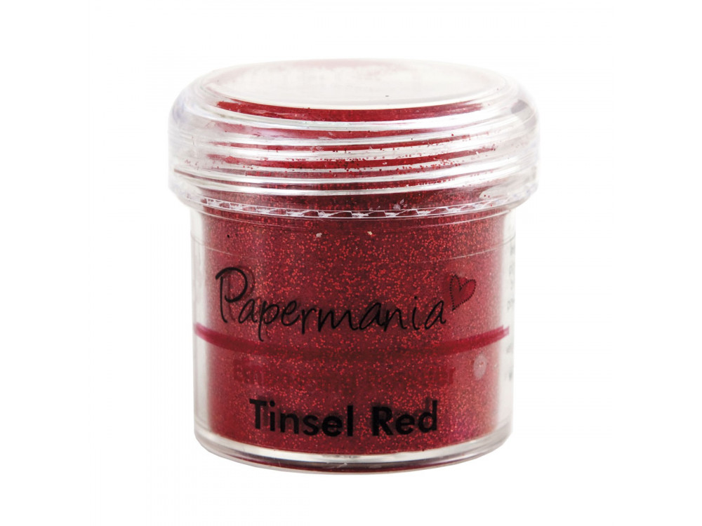Embossing Powder - Papermania - Tinsel Red