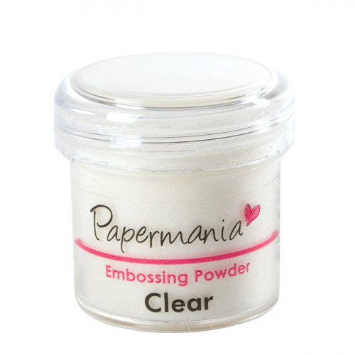 Embossing Powder - Papermania - Clear
