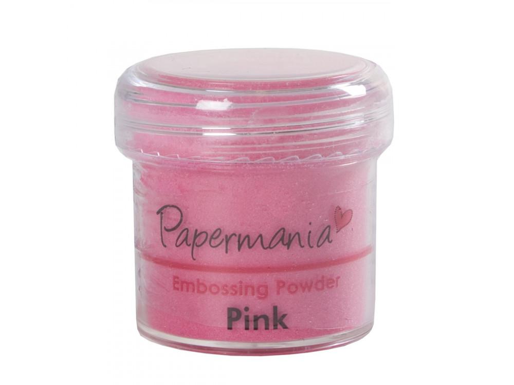 Puder do embossingu - Papermania - różowy, 30 g