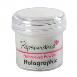 Puder do embossingu - Papermania - holograficzny
