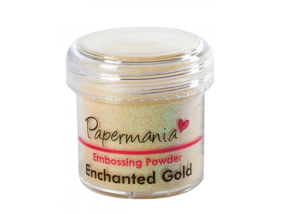 Puder do embossingu - Papermania - złoty