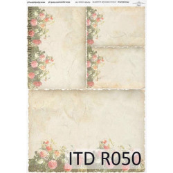Papier do decoupage A4 - ITD Collection - ryżowy, R050