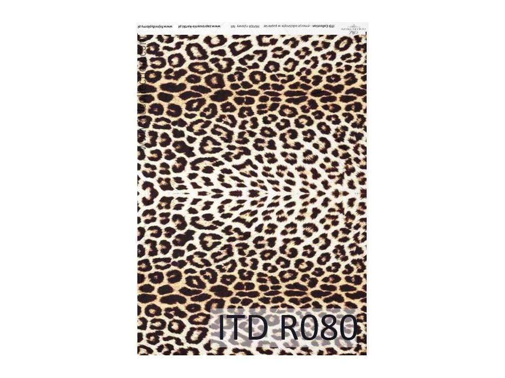 Decoupage paper A4 - ITD Collection - rice, R080