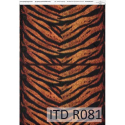 Decoupage paper A4 - ITD Collection - rice, R081