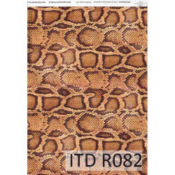 Papier do decoupage A4 - ITD Collection - ryżowy, R082