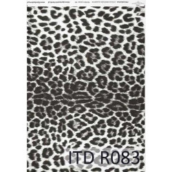 Decoupage paper A4 - ITD Collection - rice, R083