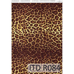 Papier do decoupage A4 - ITD Collection - ryżowy, R084