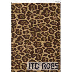 Decoupage paper A4 - ITD Collection - rice, R085