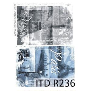 Papier ryżowy A4 decoupage R236
