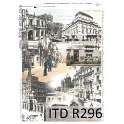 Papier do decoupage A4 - ITD Collection - ryżowy, R296