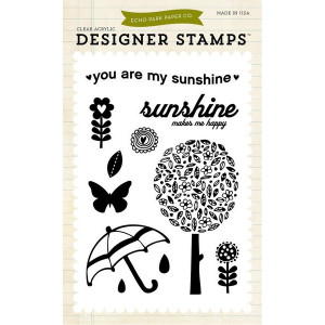 Stemple 10 x 15 cm Echo Park - You Are My Sunshine