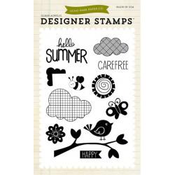 Stemple 10 x 15 cm - Echo Park - Hello Summer