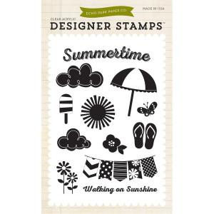 Stemple 10 x 15 cm Echo Park - I Love Sunshine
