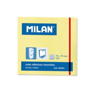 Karteczki samoprzylepne MILAN 76 x 76 mm 100 szt.