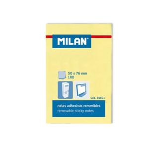 Karteczki samoprzylepne MILAN 50 x 76 mm 100 szt.