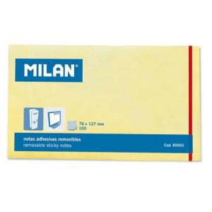 Karteczki samoprzylepne MILAN 76 x 127 mm 100 szt.