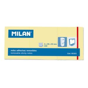 Karteczki samoprzylepne MILAN 38 x 50 mm 300 szt.