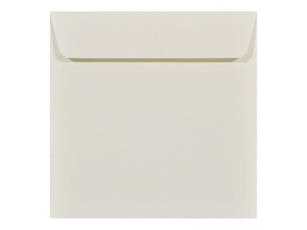 Koperta Lessebo 120g - 17 x 17 cm, kremowa