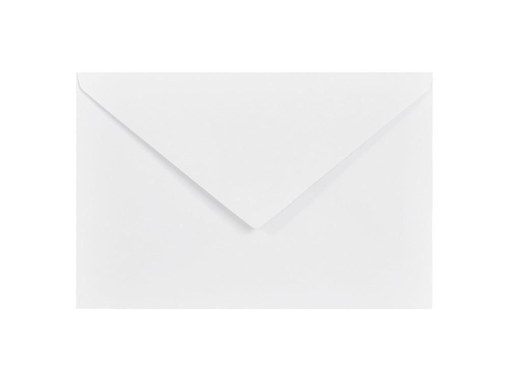 Delta Amber Envelope 100g - C6, white