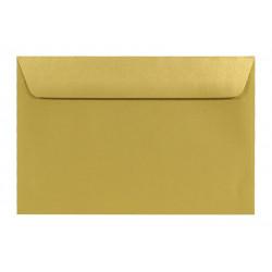 Koperta Sirio Pearl 110g - C6, Aurum, złota