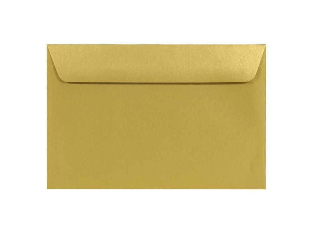 Koperta Sirio Pearl 110g - C6, Aurum, gold
