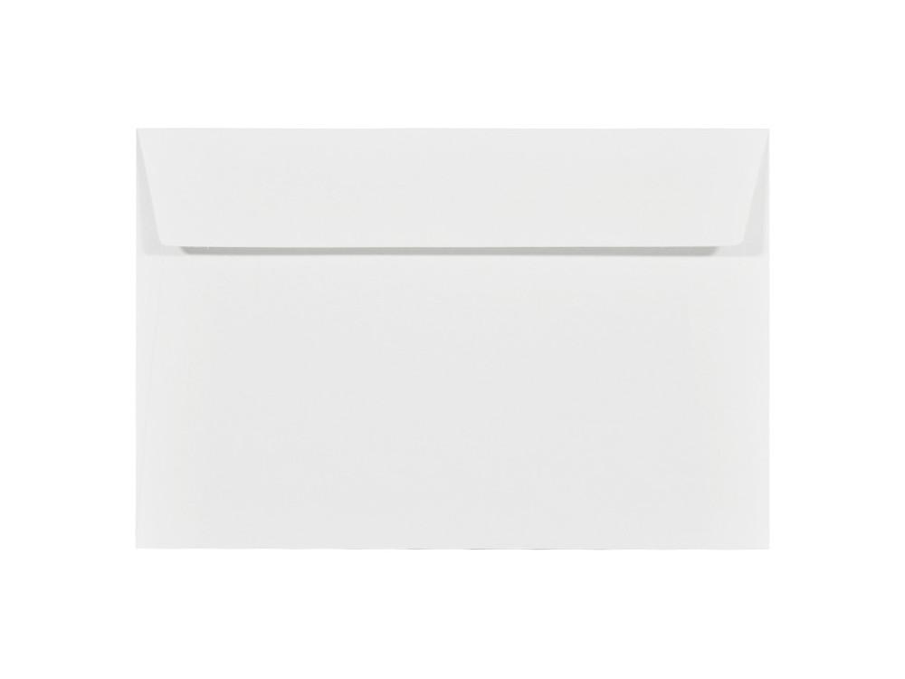Acquerello textured envelope 100g - C6, Bianco, white