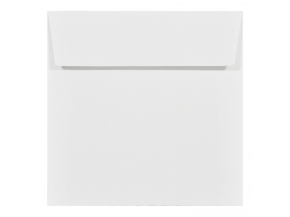 Acquerello textured envelope 120g - 17 x 17 cm, Bianco, white