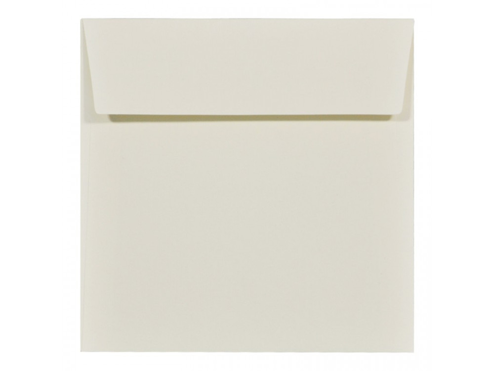 Acquerello textured envelope 120g - 17 x 17 cm, Avorio, cream